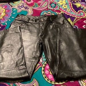 Wilson leather pants